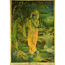 S S Brijbasi Lithograph: Murali Manohar