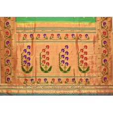 Exclusive Asawali Brocade Paithani