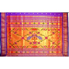 Traditional Designer Paithani Silk Saree