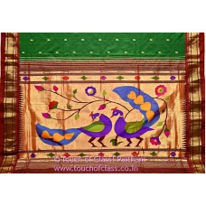 Traditional Designer Paithani Silk Saree