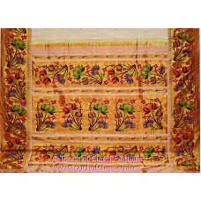 Exclusive Ajanta Lotus Brocade Paithani