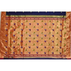 Muniya Brocade Paithani Silk Saree