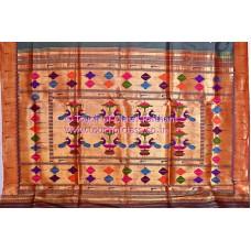 Muniya Paithani Silk Saree