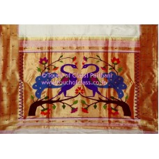 Muniya Paithani Silk Saree