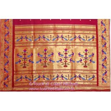 Exclusive Peacock Paithani Silk Saree