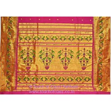 Exclusive Parrot Paithani Silk Saree