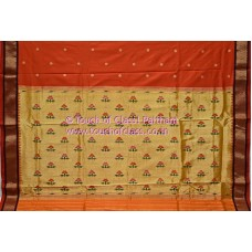 Recreation Traditional Paithani Saree
