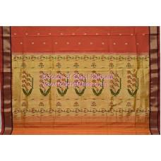 Recreation Traditional Paithani Saree