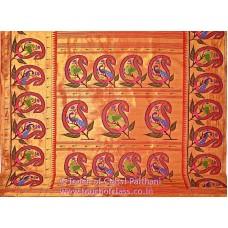 Exclusive Large Paisley Brocade Paithani