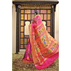 Exclusive All Over Brocade Paithani