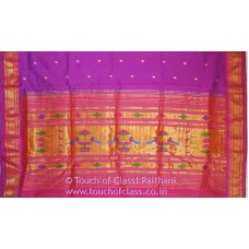 Traditional Designer 9 Yard Paithani Silk Saree