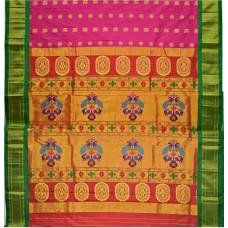 Traditional Jacquard Paithani Saree