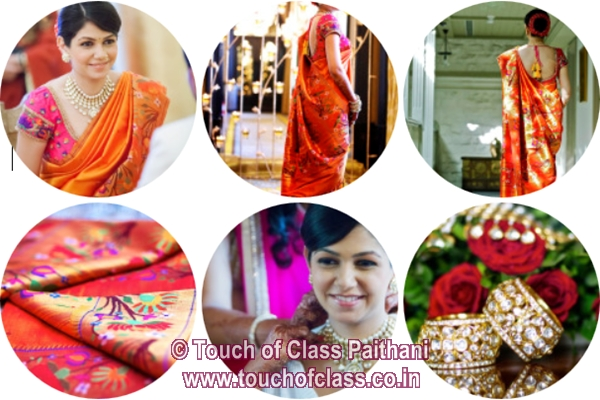 Wedding Diary: Touch of Class! PAithani