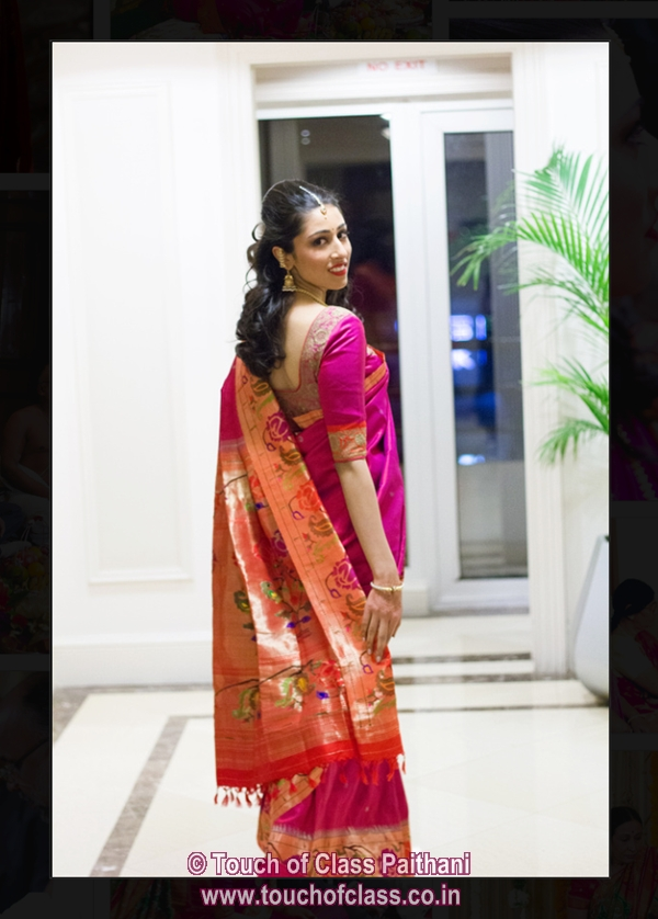 WEDDING DIARIES: Touch of Class! Paithani